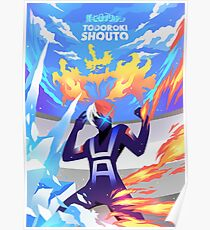 Skizorr - Todoroki Shouto  Poster