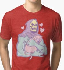 Skeletors Katze Vintage T-Shirt