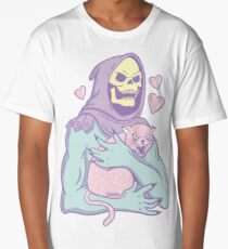 Skeletor's Cat Long T-Shirt