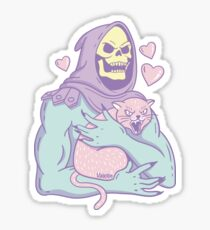 Skeletor's Cat Sticker