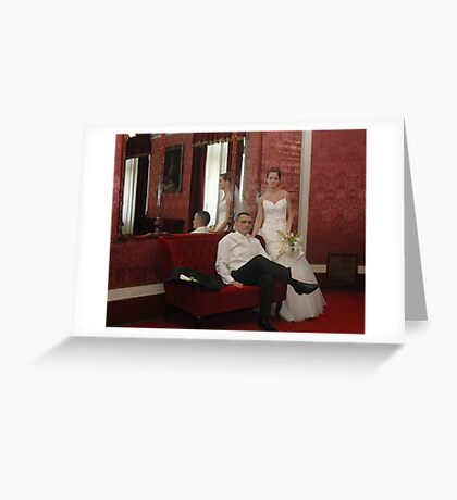 Me & My BRIDE Greeting Card