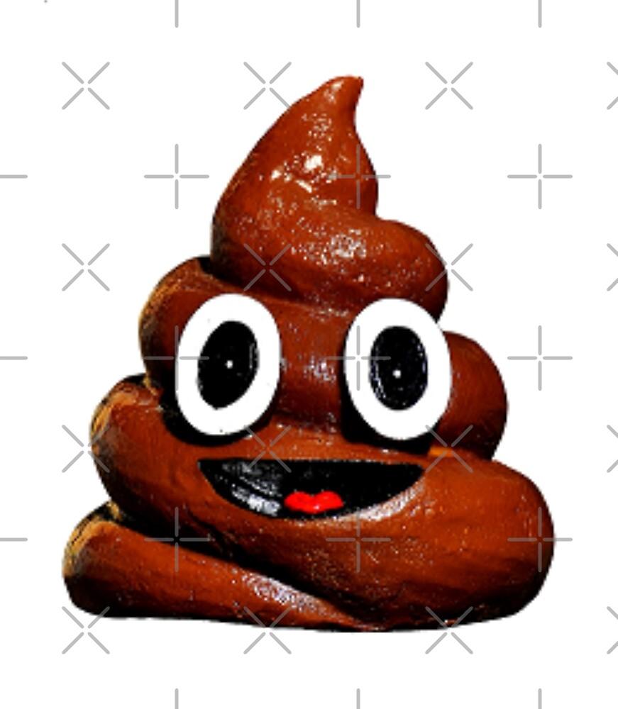 happy funny poop emoji by gossiprag