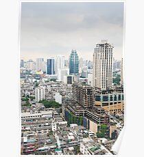 Downtown Bangkok Poster