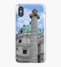 Grand church in Vienna, Austria iPhone Case/Skin