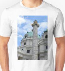 Grand church in Vienna, Austria T-Shirt