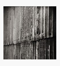 Aluminum Abstract Photographic Print