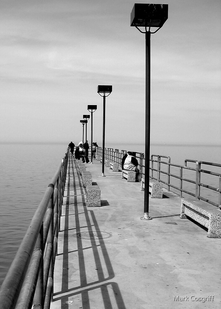 erie pier by Mark Cosgriff