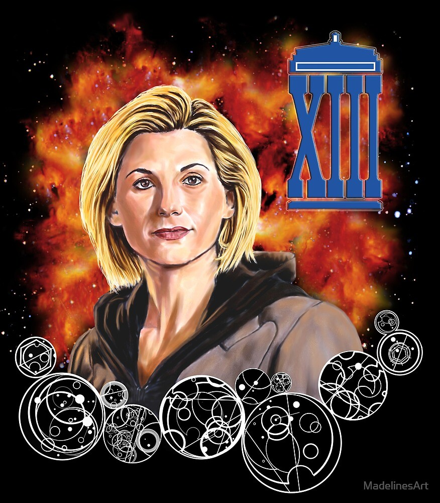 Thirteenth Doctor (Jodie Whittaker) by MadelinesArt