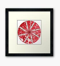 Slice Wheel Framed Print
