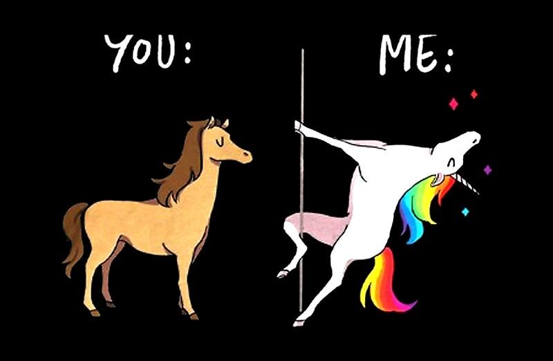 quot me unicorn you horse pole dancing quot laptop skins by