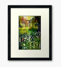 Where I want to be Framed Print