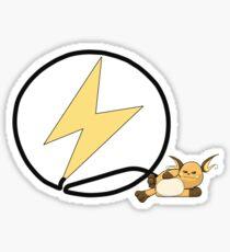 Raichu Flash logo Sticker
