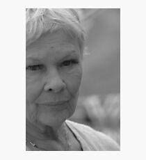 Dame Judi Dench number 6 Photographic Print