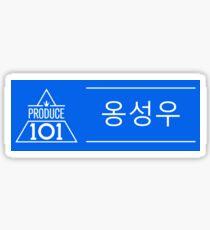 Pegatina Produce 101 - Ong Seongwoo (옹 성우)