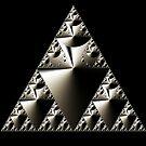 Sierpinski Triangle 2015 003 by Rupert Russell