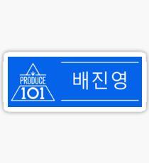 Pegatina Produce 101 - Bae Jinyoung (진영 배)