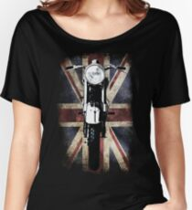 Classic British BSA Motor Cycle Tee Women's Relaxed Fit T-Shirt