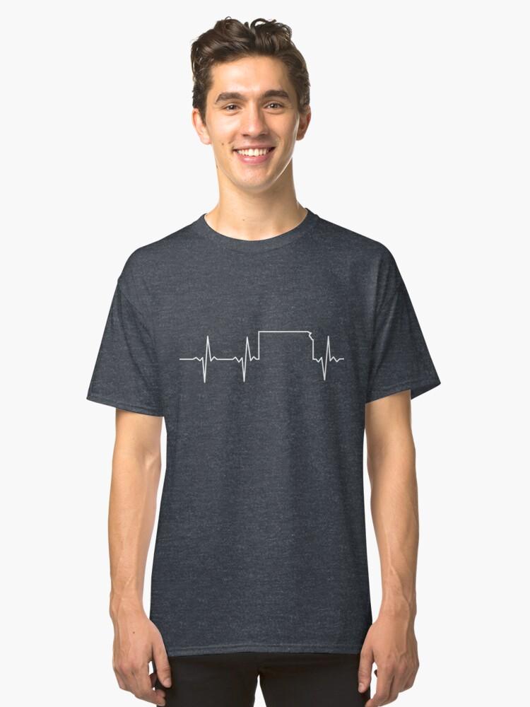 Heartbeat Kansas Classic T-Shirt Front