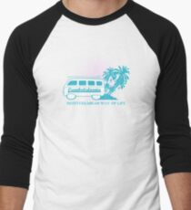 Camiseta ¾ estilo béisbol Cambrilsfornia Furgo