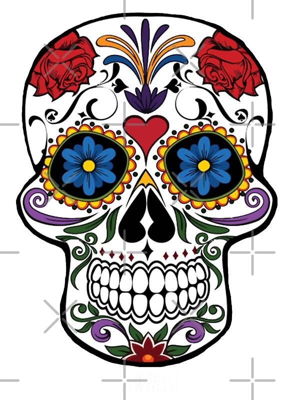 Mexikanische totenmaske geschenke fanartikel redbubble - Mexikanische totenmaske name ...