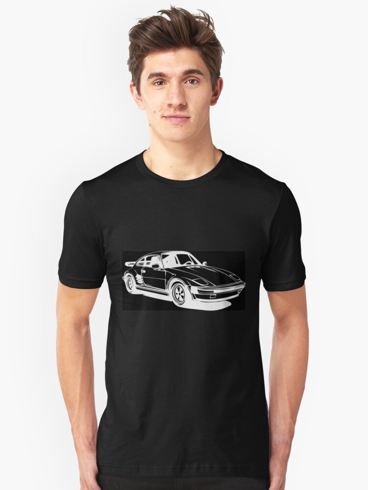 Black and White 924 Unisex T-Shirt Front