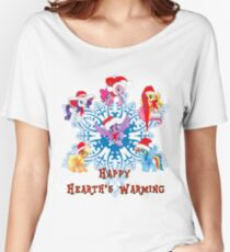 happy hearth's warming 1 Women's Relaxed Fit T-Shirt