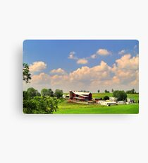 Amish Farm Canvas Print