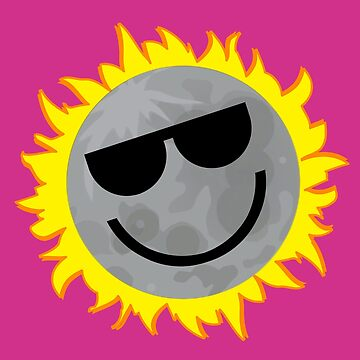 Happy Moon Eclipsing Sun by ecliptomaniac
