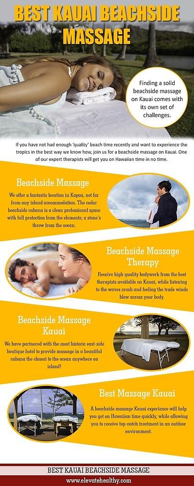 Best Kauai Beachside Massage by Kauai Couples Massage