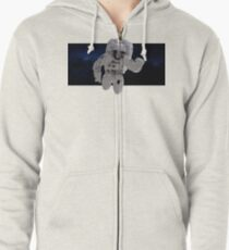 Lost in Space Zipped Hoodie