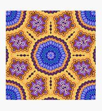 Ethnic Mandala Photographic Print