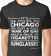 Its 106 Miles To Chicago Graphic T-Shirt