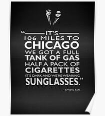 Seine 106 Meilen nach Chicago Poster