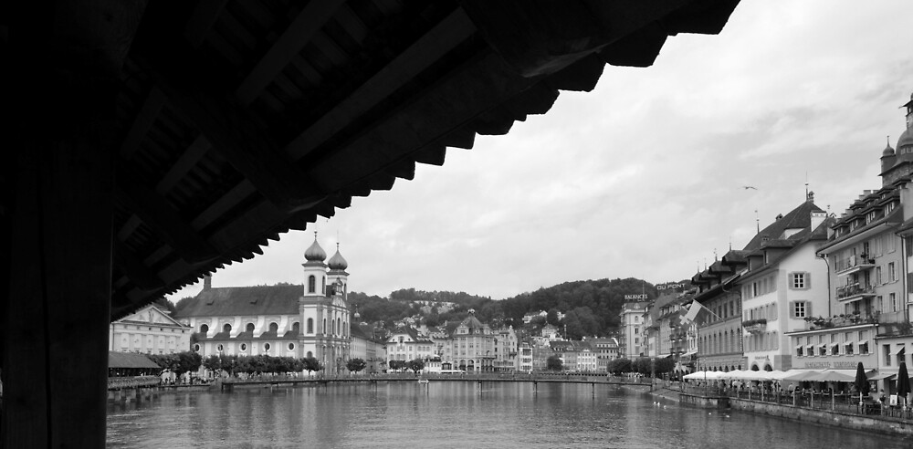 Lucerene Bridge  by yashithakurani