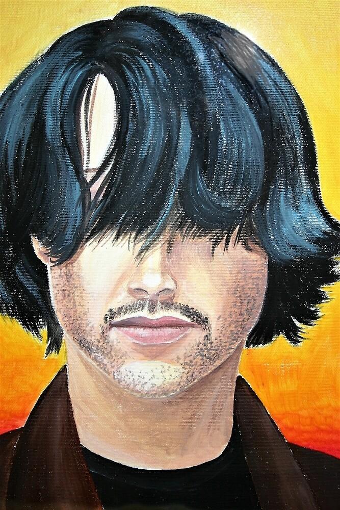Keanu Reeves con i capelli davanti by paolabuccheri
