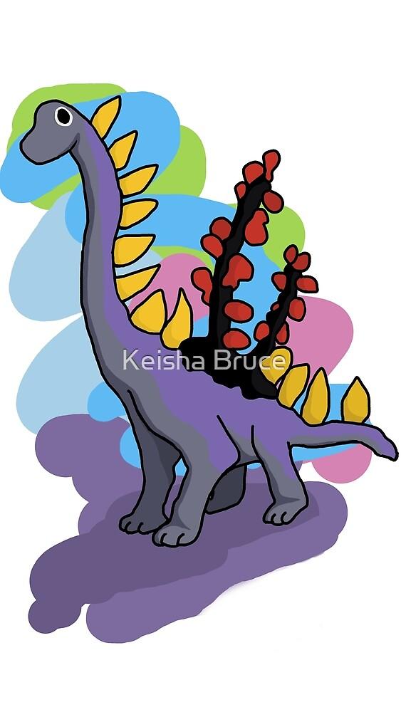 Ogi the Dinosaur by Keiiish