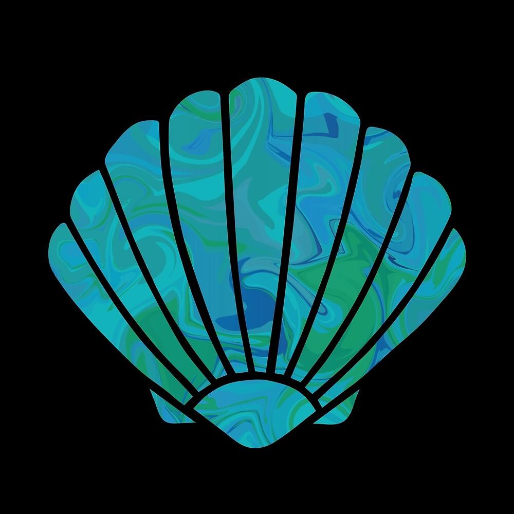 Mermaid Shells by Georgia Philips