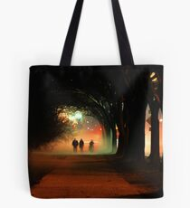 Night Fog in the City Tote Bag