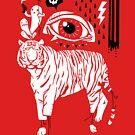 Mind's Eye Of The Tiger by obinsun