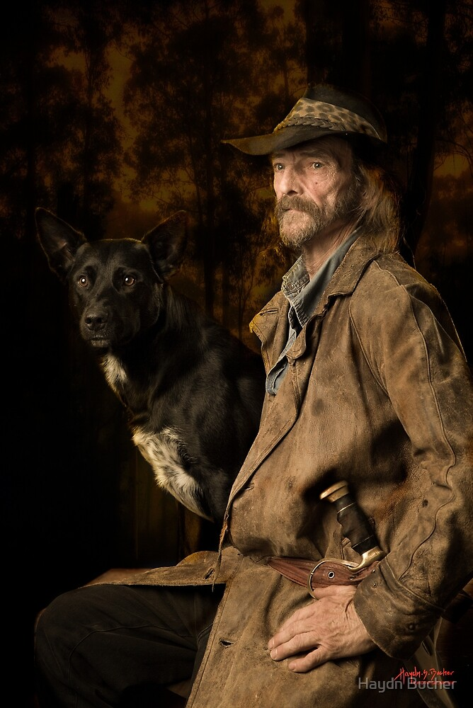 Terry and Bullet by Haydn Bucher