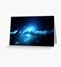 Nebula Dream - Laptop Skins Greeting Card
