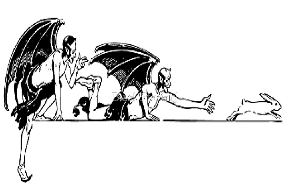 Devils And a Rabbit by BlackStarGirl