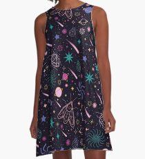 Bug Galaxy  A-Line Dress