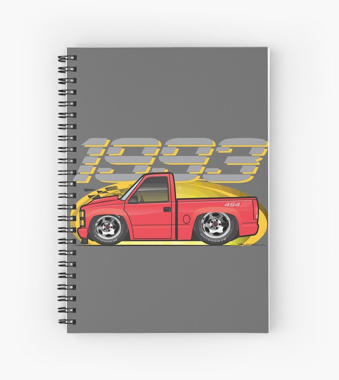 Cuadernos de espiral «Dibujos animados rojo 454SS» de JRLacerda ...