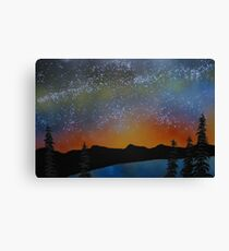 A Summers Eve at Lake Tahoe, California Canvas Print