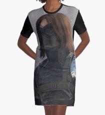 Winter Soldier Graphic T-Shirt Dress