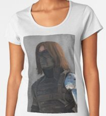 Winter Soldier Premium Scoop T-Shirt