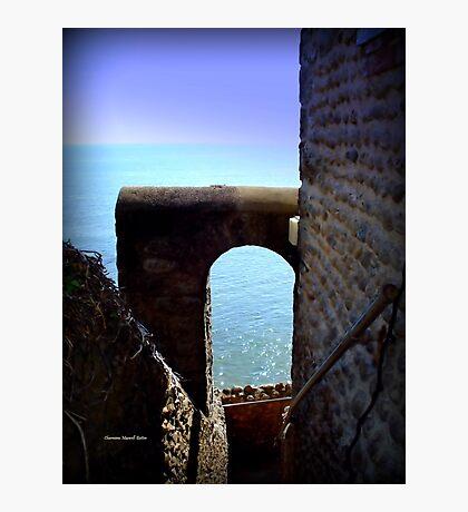 Castle Steps Photographic Print
