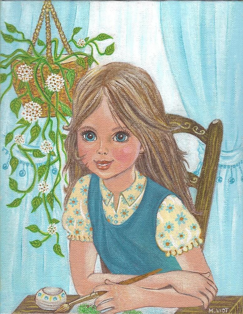 The Little Girl by MireilleViot