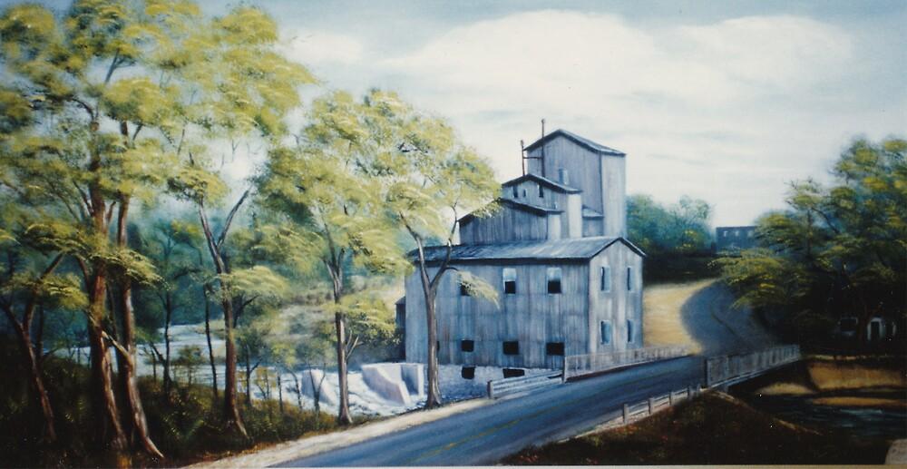 Quyon Mill by Irene Clarke